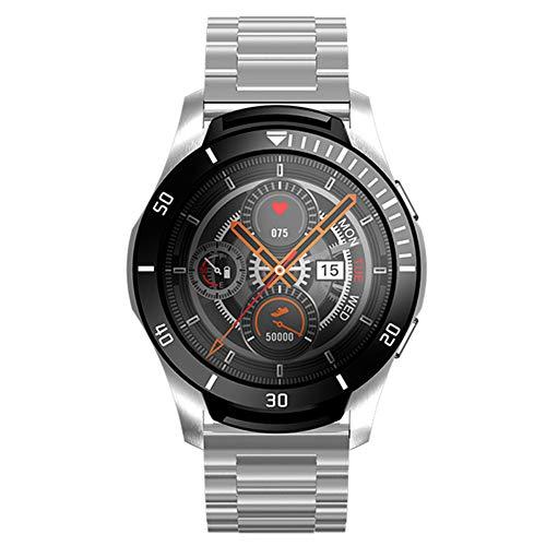 CETLFM New Full-Full Circle-Smart Touch Reloj De Los Deportes De Múltiples Funciones del Color De La Pantalla, El Sueño Seguimiento del Mercado Al Aire Libre Inteligente Reloj,B