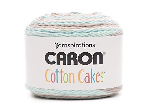 Caron Cotton Cakes Self Striping Yarn 530 yd/485 m 8.8 oz/250 g (Beachglass)