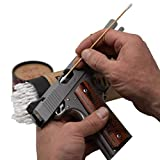 Firearm Cleaning SWABS by Sage & Braker, Made in The USA, 6' Wood and Cotton Gun Cleaning Swabs for Cleaning All The Hard to Reach Areas of Your Firearm.