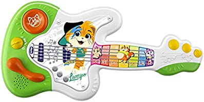 Guitarra com músicas dos 44 Gatos, Chicco, Chicco, Colorido
