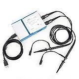 Oscilloscopio virtuale Mini Oscilloscopio portatile a doppio canale, portatile, per debug di attrezzature telefoniche