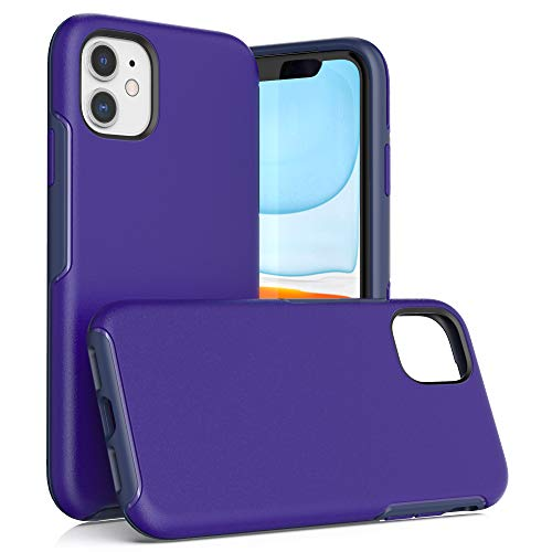 Krichit Ongoing Series Compatible with iPhone 11 case, Anti-Drop and Shock-Absorbing case Compatible with 6.1-inch iPhone 11 case (iPhone 11, Blue)