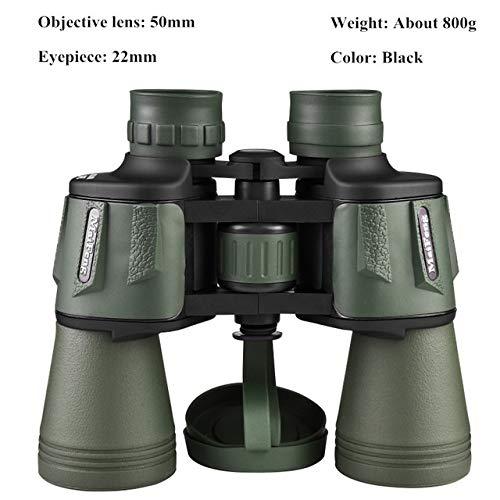 Yqs Fernglas 10000M Hohe Klarheit Binoculars Leistungsstarke Militärfernglas for Outdoor-Jagd Optisches Glas HD-Teleskop wenig Licht Nachtsicht (Color : 20X50 03L)
