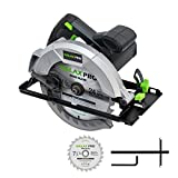 Circular Saw, GALAX PRO 10A 5800RPM Hand-Held Circular Saw Bevel Angle(0-45°) Joint Cuts with...