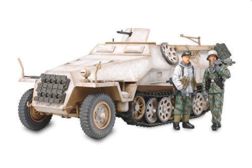 タミヤ 1/48 ミリタリーミニチュアシリーズ No.64 ドイツ陸軍 ハノマーク 装甲兵員輸送車 D型 シュッツェン...
