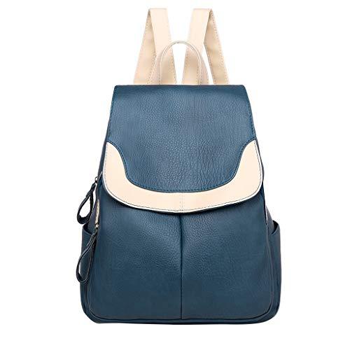 SSUPLYMY Damenmode Rucksack Umhängetasche Backpack Anti Diebstahl Tasche Wasserdichte Schultertasche aus weichem Leder Diebstahlsicherer Reiserucksack Anti Diebstahl für Frauen