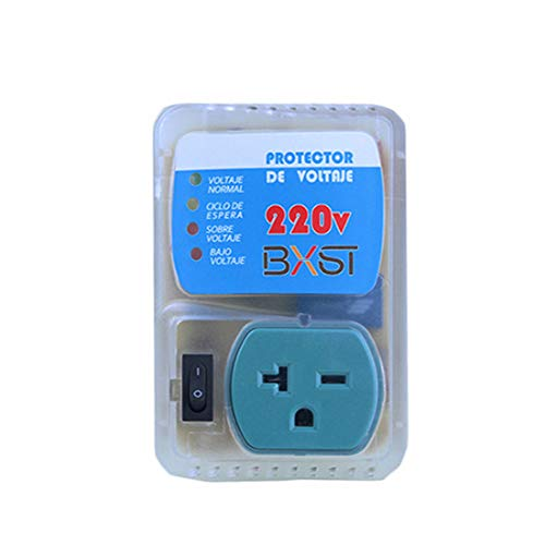 BSEED Electronic 220V Voltage Surge Protector Home Appliance for Refrigerators/Freezers/Dryers Brownout 1 PACK