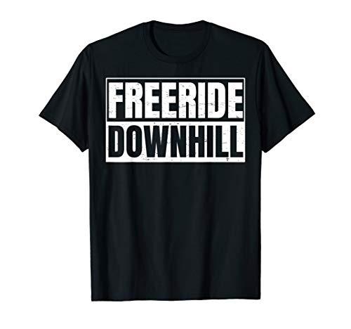 Freeride Downhill Design für Freeride Downhill Biker T-Shirt