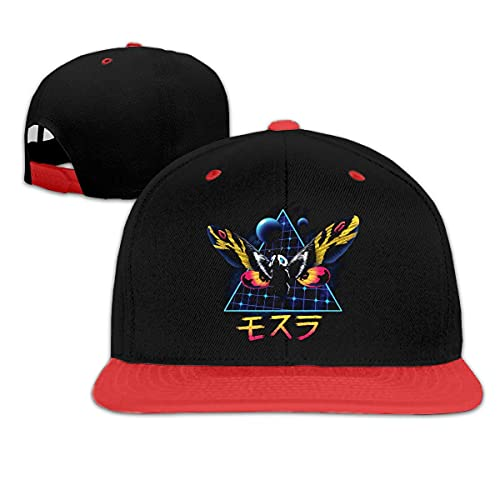 RAD King Monsters - Mothra Gorra de béisbol de Moda Hip Hop para niños Sombreros Divertidos Ajustables