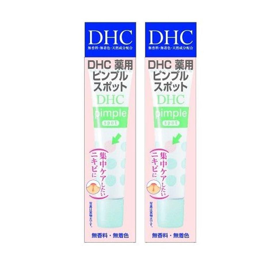 直接落ち着くインテリア【セット品】DHC 薬用ピンプルスポット 15ml 2個セット