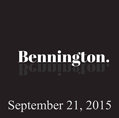 Bennington, Brian Regan and Judah Friedlander, September 21, 2015 audiobook cover art