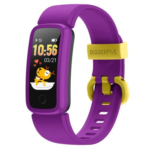 orologio fitness bambino 10 anni BIGGERFIVE Vigor Orologio Fitness Tracker Bambino Bambina Donna
