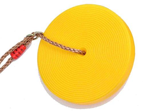 Ailin home- Jouets pour enfants Ensemble de suspension à roulettes en plastique pour enfants, coussin de sécurité pour enfants Ensemble de balançoire sécurisé en sécurité pour enfant en plein air - Convient pour 5-12 ans