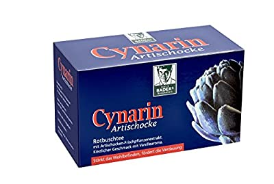 BADERs cynarin artichoke. Rooibos tea for well-being and digestion. 20 aroma bags. Pharmaceutical registration number: 00034772 from EPI-3 HEALTHCARE GMBH