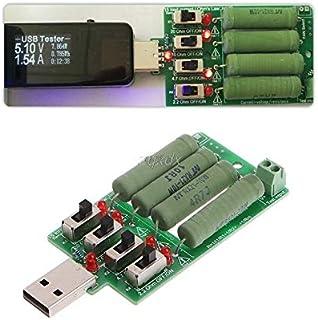 أدوات الشبكات - مقاومة التفريغ تحميل إلكتروني USB مقاومة قابلة للتعديل 15 اختبار التيار Z10 سقطة.