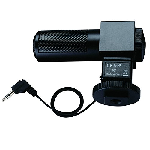TAKSTAR SGC-698 Photography Interview Recording Microphones MIC 3.5mm Output for Nikon Canon Camera DSLR DV Camcorder