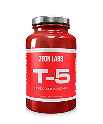 Zeon Labs T5 extreme fat burner (60 Capsules) | Original T5 Fat Burners | UK Manufactured | Best Slimming Diet Pills Super Strong | T5s Weight Loss Tablets | For Men & Women (60 Capsules) by Suppleform
