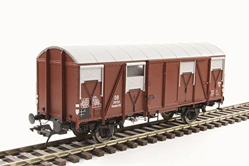 Lenz 42243-01 Güterwagen Gmmhs 56 Alu-Dach mit Bremserbühne DB