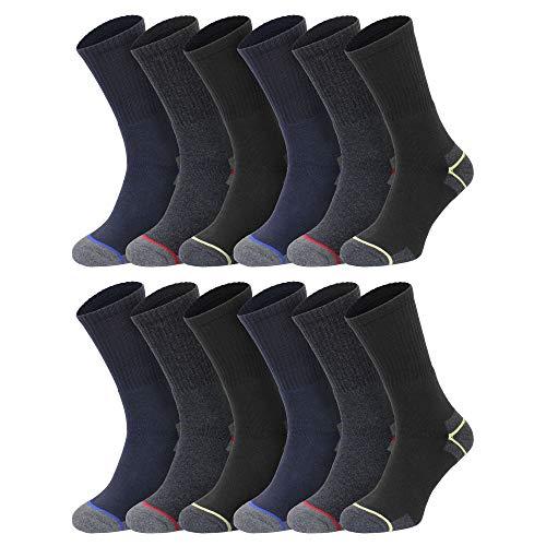 Socksmad Heavy Duty Work Socks -...