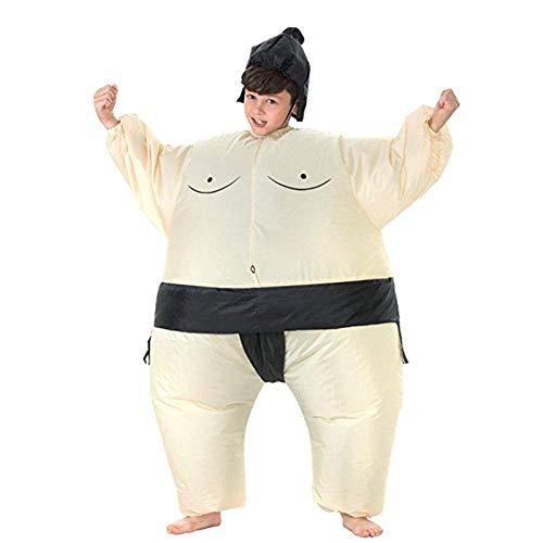 Traje inflable del partido del traje de los nios inflable Traje de Sumo, Lucha parques de atracciones Juegos Complementos Disfraz de Sumo Halloween concursos de disfraces cosplay partido Carnival 125