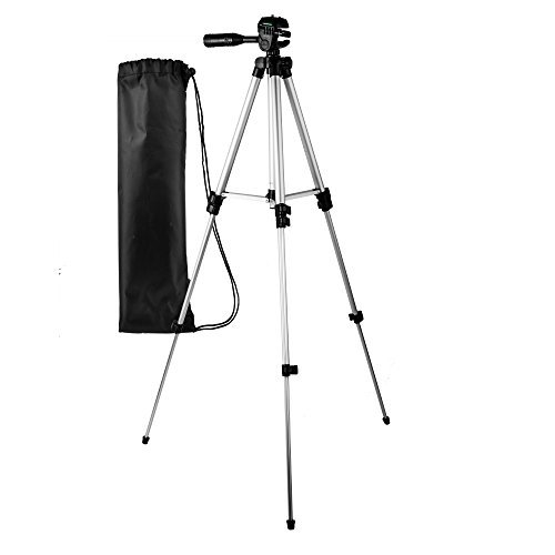 Accessories Kit For Sony Cyber-shot DSCH300/B, HX400V/B, DSC-HX300 Digital Camera Includes Deluxe Carrying Case + 50 Tripod With Case + Micro HDMI Cable + LCD Screen Protectors + Mini Tripod + More