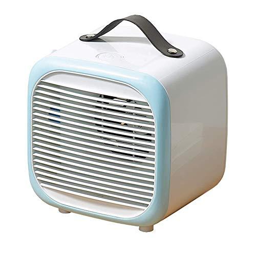 zZZ Zambista Mini Enfriador de Aire portátil, Aire Acondicionado de refrigeración Personal Multifuncional, Ventilador de Escritorio silencioso, con humidificador para Dormitorio doméstico, Oficina