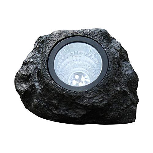 Luci di roccia a energia solare, LED decorative a energia solare, impermeabili, per esterni, per giardino, patio, cortile, vialetti