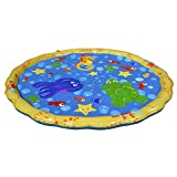 WANG PVC Inflatable Outdoor Spray pad Children Play Water Spray Ring Inflatable Toy Spray Ball...