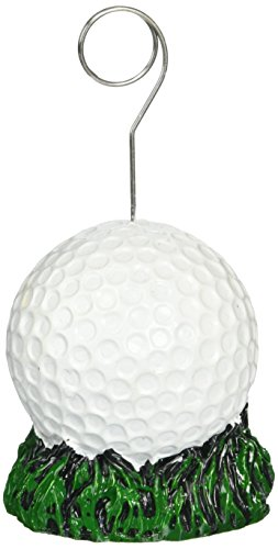 Golf Ball Photo/Balloon Holder Party Accessory 1 count