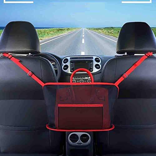 Achterbank auto opslag organisator universele stoel nettas achteraan, kast van de achterbank, bagagenet, Driver Cargo Netting Pouch