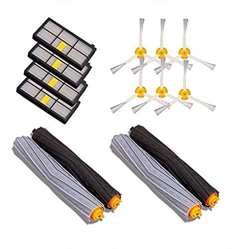 #N/V Kits de piezas de repuesto para iRobot para Roomba 800 900 Series Aspirador Accesorios Extractor Cepillos Filtros Cepillos Laterales