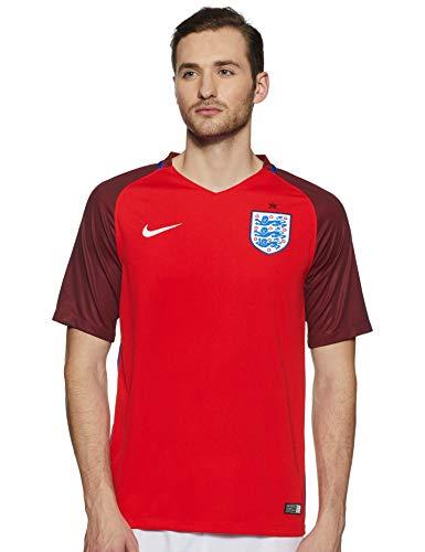 Nike Herren Trikot England Away Stadium Jersey, challenge red/deep royal blue/White, S