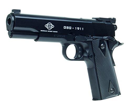 Softair Vollmetall Pistolen Colt Browning Walther Heckler & Koch Beretta Combat Zone uvm. Airsoft Softair Kugeln Munition Premium Qualität aus Deutschland von ETU24 (GSG 1911)