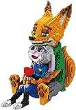 KKOO Micro Bloques De Construcción, Nano Juego De Bloques De Conejo Fox, 4600 Piezas De Juguetes para Niños, Montaje De Bricolaje, Adecuado para Niños Mayores De 6 Años, Regalo De Cumpleaños