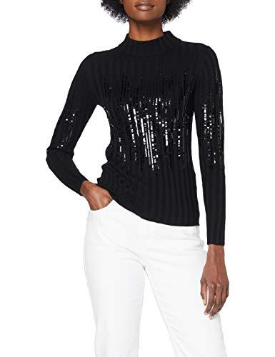 HUGO Damen Shawnel 10231143 01 Pullover, Black1, L