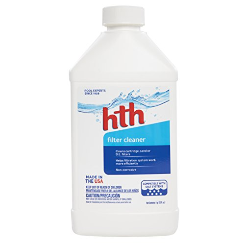 HTH Pool Cleaner Filter Cleaner – 32 oz.