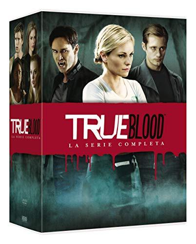 PAQUIN,MOYER,TRAMMELL,KWANTEN,WESLEY,BAUER,ELLIS,SANDERSON,PARRACK,PRESTON - TRUE BLOOD SERIE COMP.1-7 ( BOX 33 DV) (33 DVD)