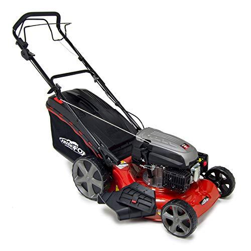 "Fox Frisky 20"" Quad Cut Petrol Lawn Mower (51cm) - 173cc, Self Propelled, 4in1, Lawn Striper, 55L Bag"