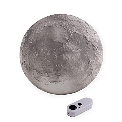 Uncle Milton 18025 Ever Wonder Moon In My Room Luna Luz de Noche con Control Remoto, color gris, No se aplica (90805102)