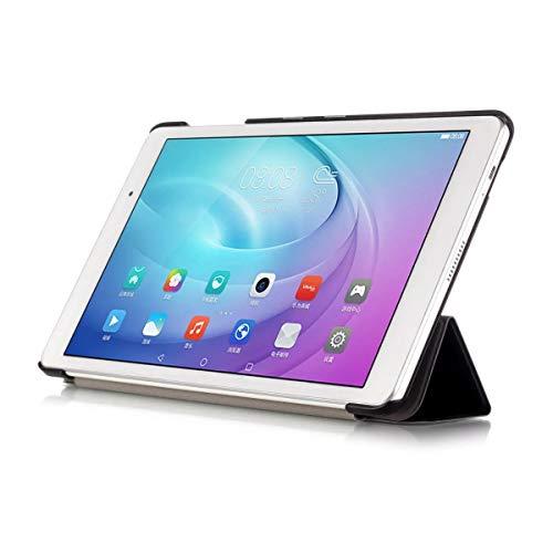 Kepuch Custer Hülle für Huawei MediaPad T2 10.0 Pro,Smart PU-Leder Hüllen Schutzhülle Tasche Case Cover für Huawei MediaPad T2 10.0 Pro - Schwarz - 5