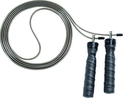 Deuser Power Speed Rope Springseil, grau, One Size