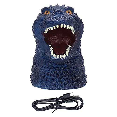 Lámpara de cabecera, lámpara de Silicona con luz de Noche de Dinosaurio, Carga por USB para el Regalo de los Amigos de los niños