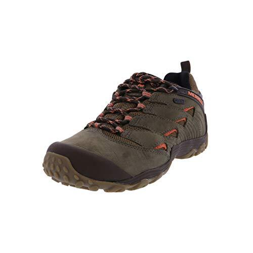 Merrell Women's Chameleon 7 Waterproof Hiking Shoe, Dusty Olive, 08.0 M US