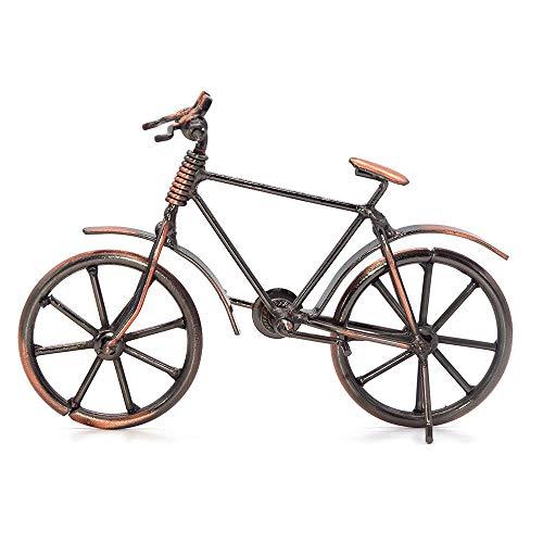 Simon Lee Woodham Schmiedeeisen Fahrraddekoration Modell, Deko Fahrrad, Deko Fahrrad klein, Metall Art Dekoration Ornamente für Home Office
