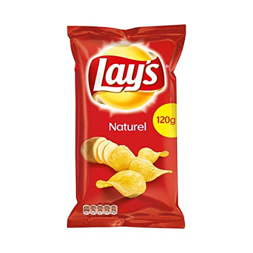Chips de sabor natural | Lay's | Chips de sal natural | Peso total 120 gramos