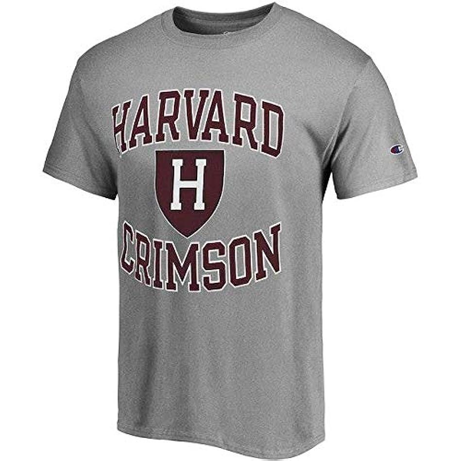 かわいらしいフェードアウトみなすChampion Champion Harvard Crimson Gray Tradition T-Shirt スポーツ用品 【並行輸入品】