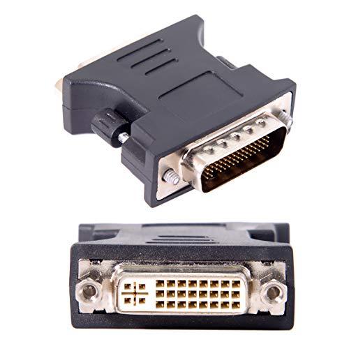 Cablecc LFH DMS-59pin männlich auf DVI 24+5 weiblich Verlängerungsadapter für PC-Grafikkarte