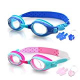 SYOSIN Schwimmbrille Kinder, 2 S...