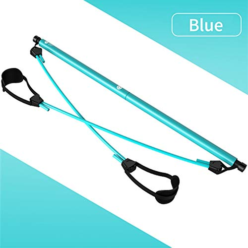 For Sale! MAEE Resistance Band Bar, Pilates Bar Kit with Resistance Band Exercise Stick Toning Bar F...