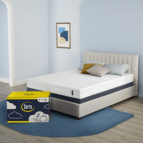 Serta 7 Inch Twin Cooling Gel Memory Foam Mattress